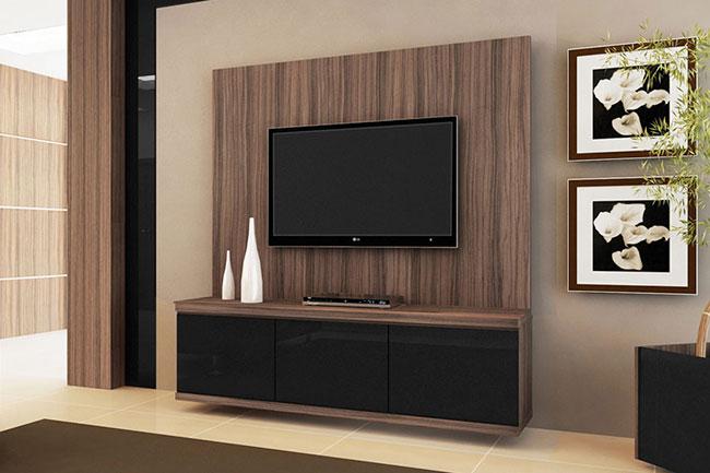 Painel De Tv Para Sala Com Gavetas ~ Rack para Sala – modelos de racks para tv