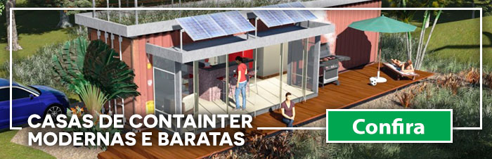 Confira mais sobre casas de containers