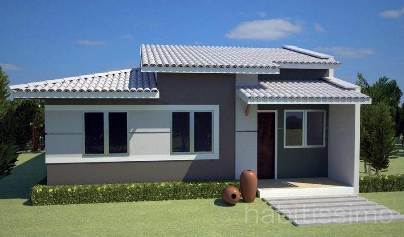 Casa pre-moldada