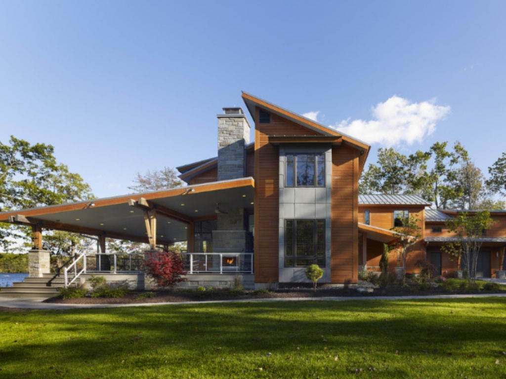 Casa de campo fachadas fotos modelos e projetos for Planos de casas de campo modernas