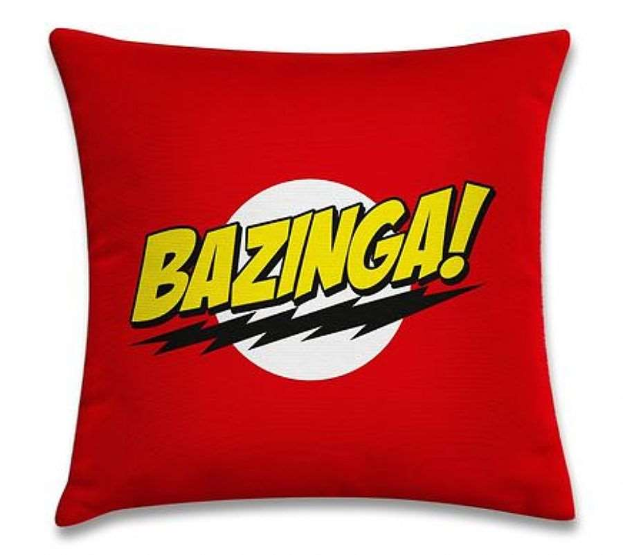 Almofada Bazinga Big Bang Theory