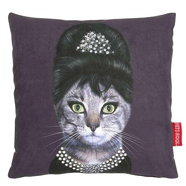 Almofada de gato divertida