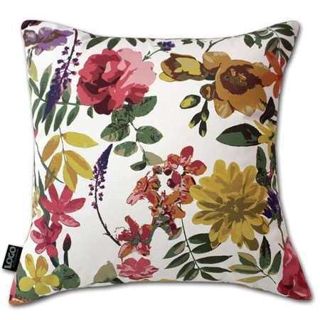 almofadas de flores para o sofá