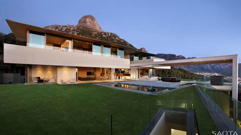 Projeto de casa luxuosa