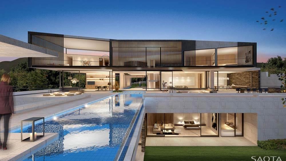 Casa Moderna luxuosa - Mansão com piscina