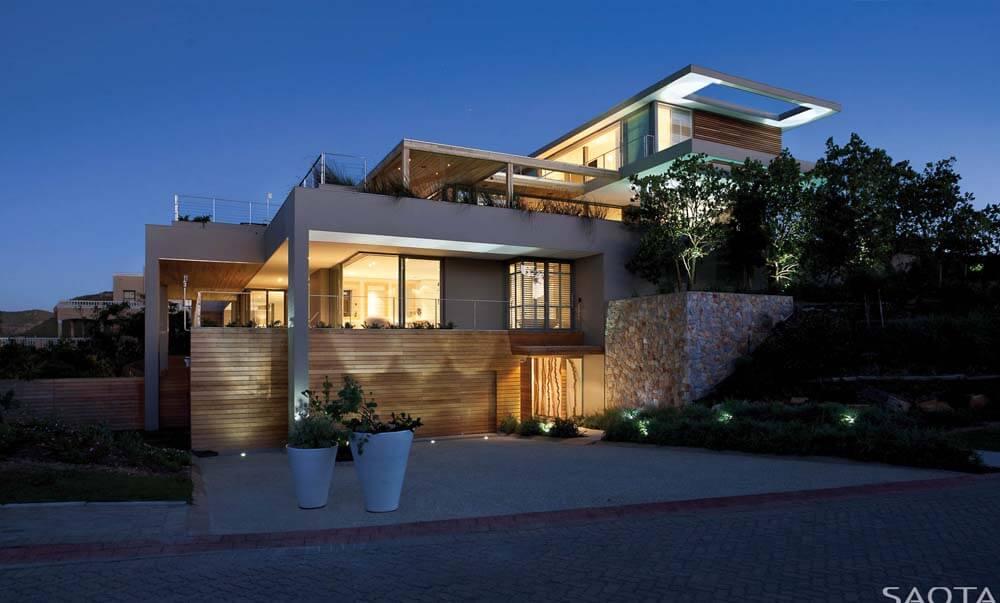 Projeto de casa de luxo