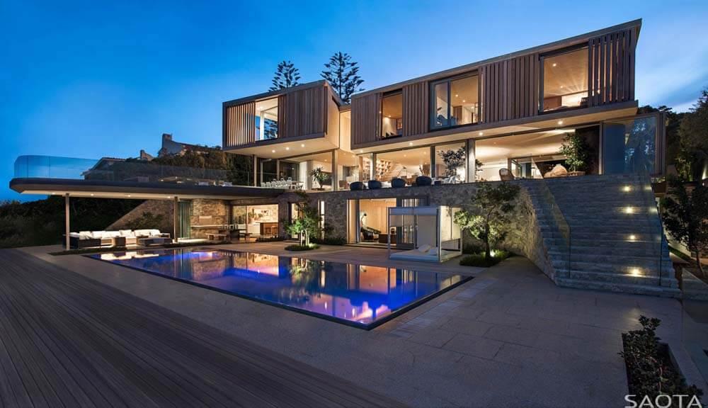 35 modelos de casas de luxo fotos de casas e mans es aqui for Casa moderna wallpaper