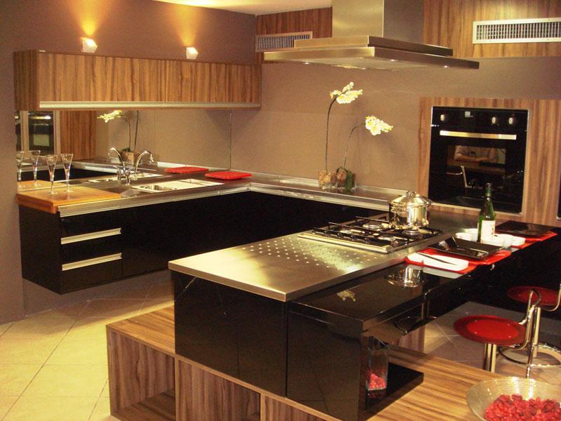 Cozinha Granito preto