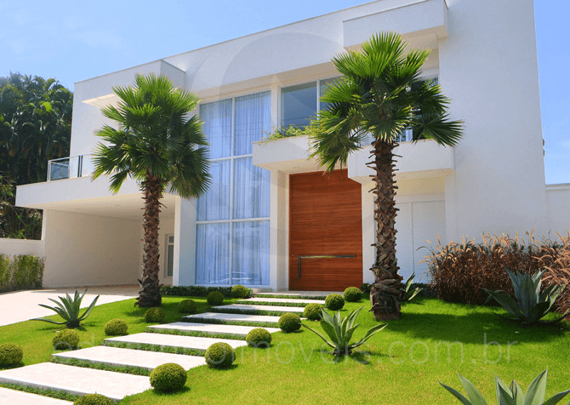 Jardim residencial como montar decorar plantas veja - Entradas para casas ...