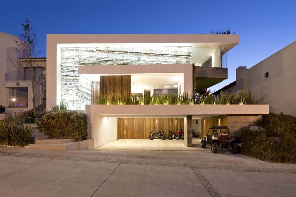 35 modelos de casas de luxo fotos de casas e mans es aqui for Fachadas de casas nuevas modernas