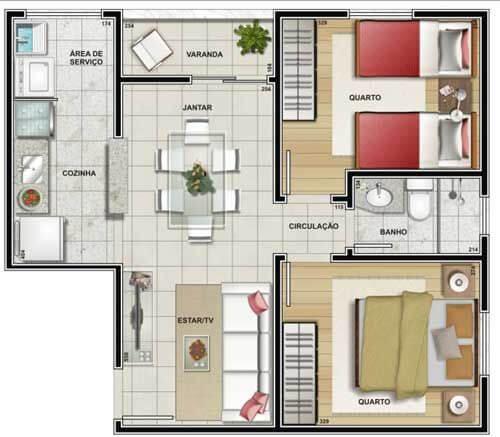 projeto de casa simples