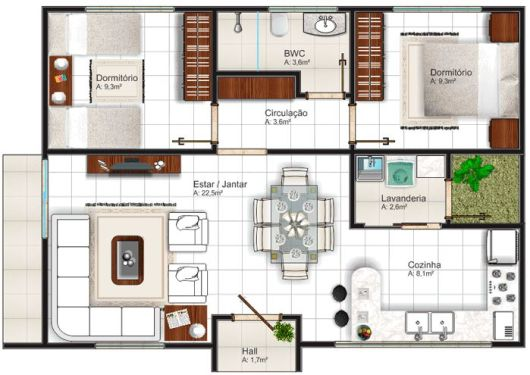 Fachadas de casas pequenas e simples 95 ideias e modelos for Casas pequenas de una planta modernas
