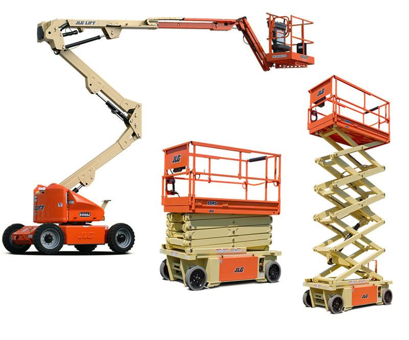 Plataformas elevatórias para trabalho