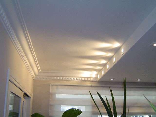 iluminação rebiaxo forro gesso acartonado drywall