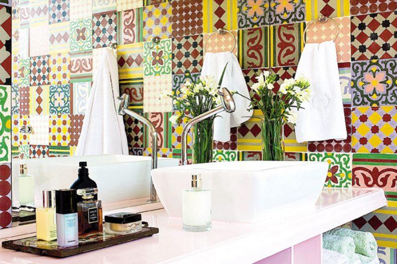 Revestimentos para banheiro em vinil