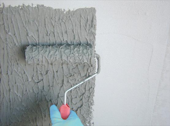 como aplicar textura em parede
