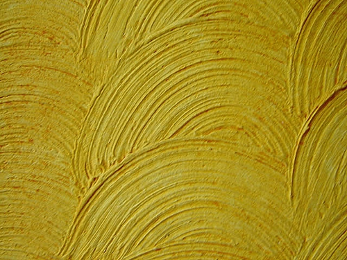 textura rústica aplicada circularmente