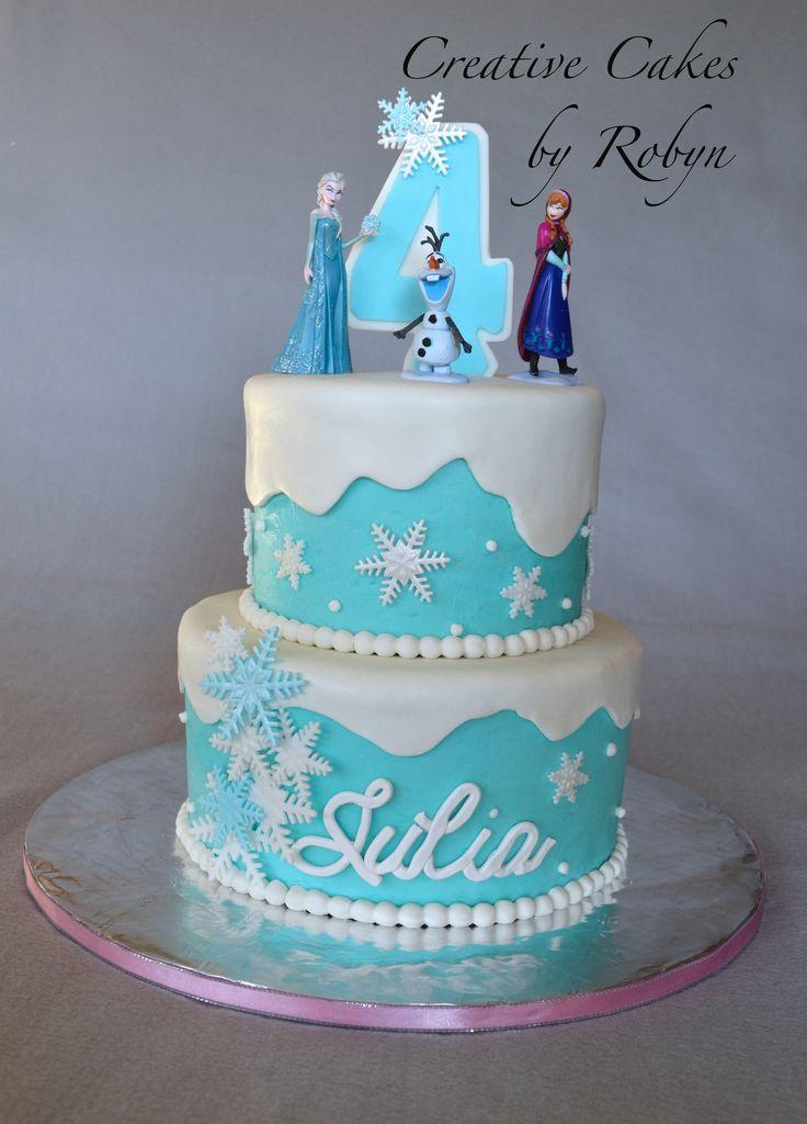 Bolo de aniversário Frozen