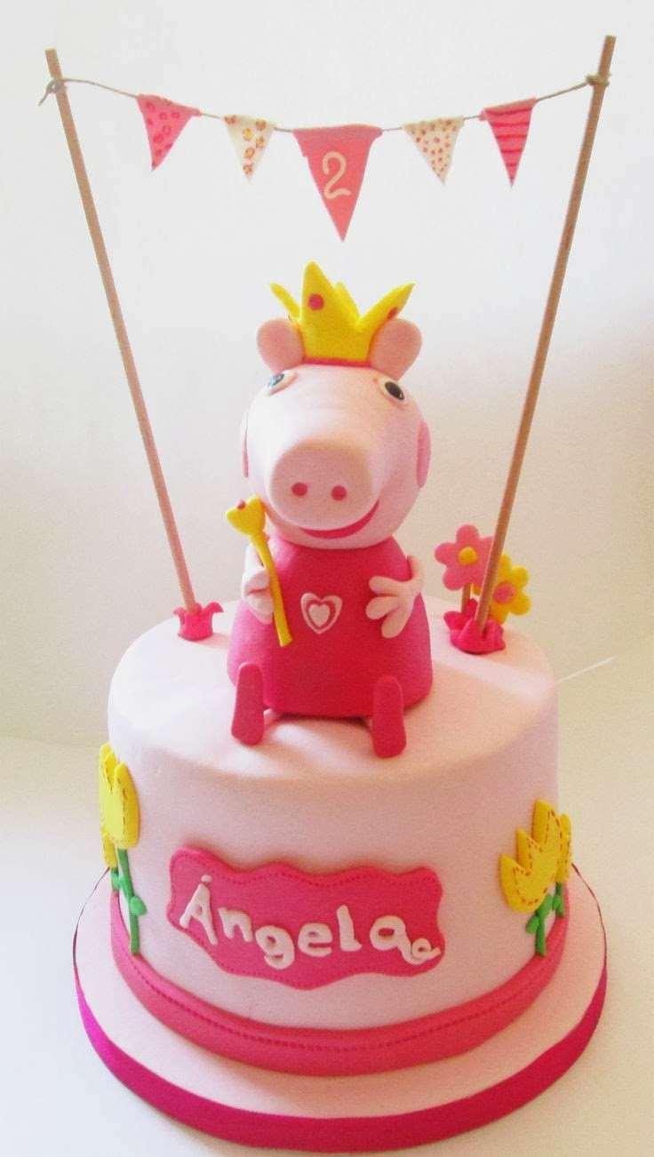 Peppa Pig Bolo de Aniversário