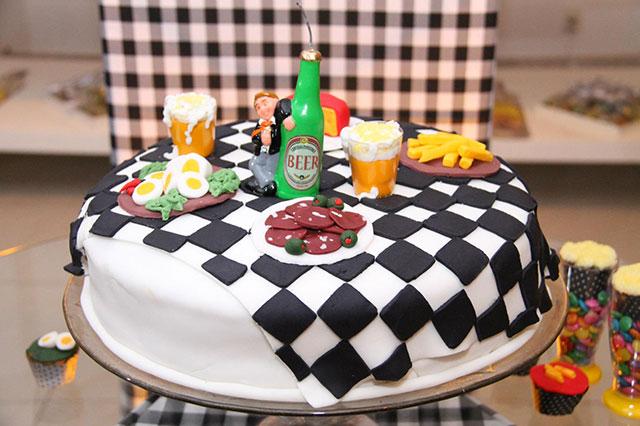 bolo festa de buteco