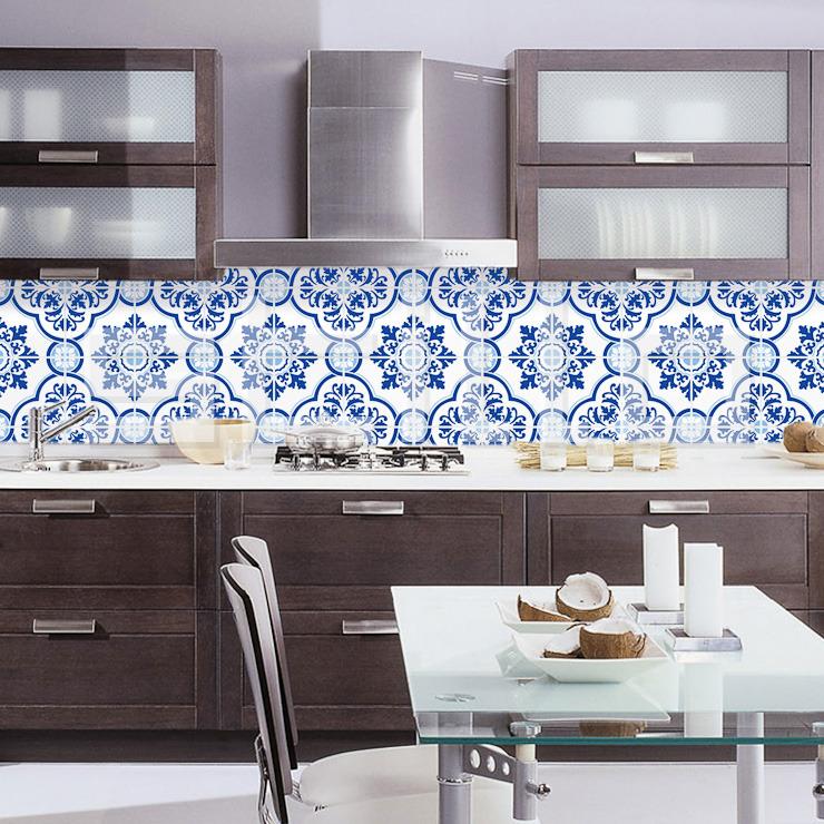 Azulejos para cozinha ideias e modelos for Azulejo sobre azulejo