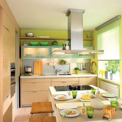 cozinha integrada pequena