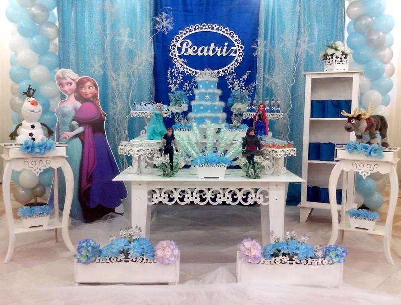 Decoração de Festa Frozen - Aventura Cogelante