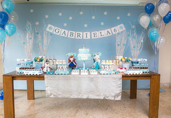 salão tematizado para festa do famoso desenho animado
