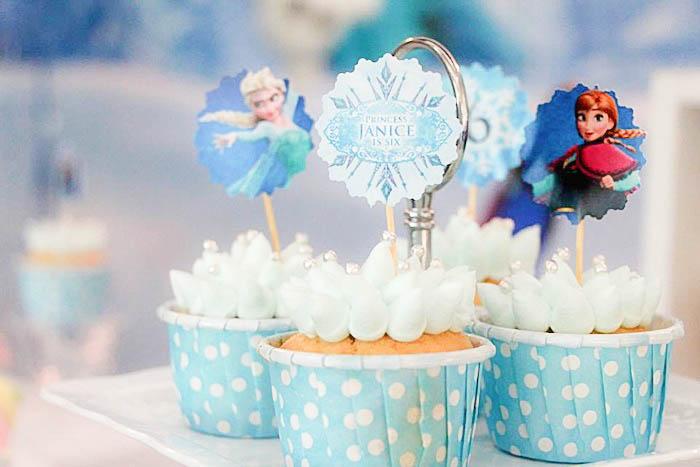 cupcakes decorados para festa decoraas