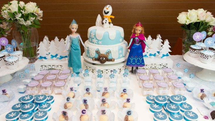 Princesinhas da famosa animação compões o tema da fasta