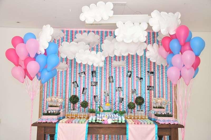 decoração da peppa pig para festinha de aniversário infantil