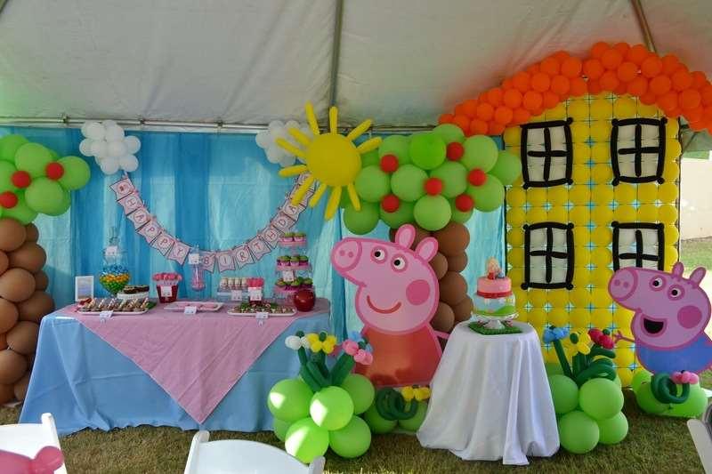 Festinha para menino da Peppa Pig