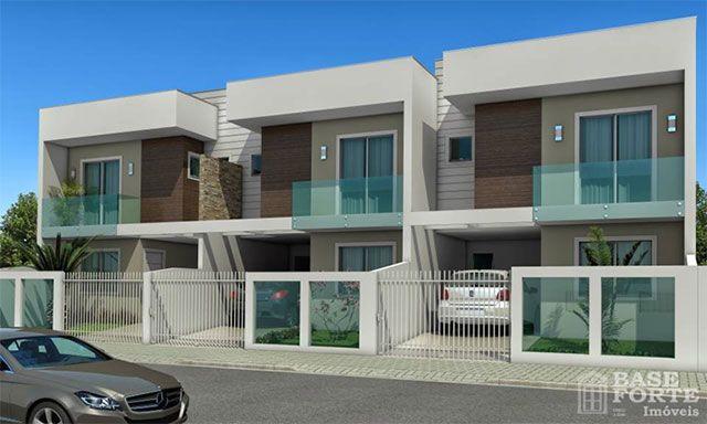 15 fachadas de sobrados projetos e estilos exclusivos for Modelos de apartamentos modernos y pequenos