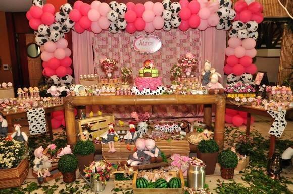 festinha infantil feminina