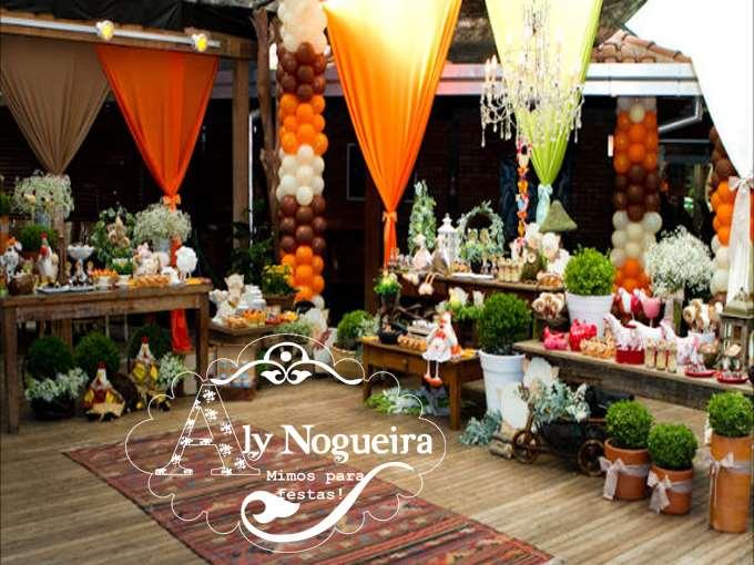 decoração estilo fazendinha por Ly Nogueira