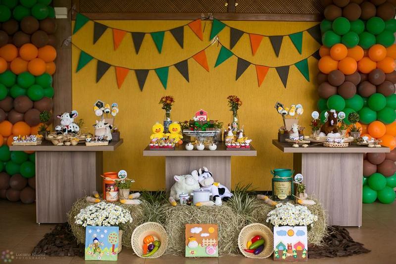 Festa decoração fazendinha