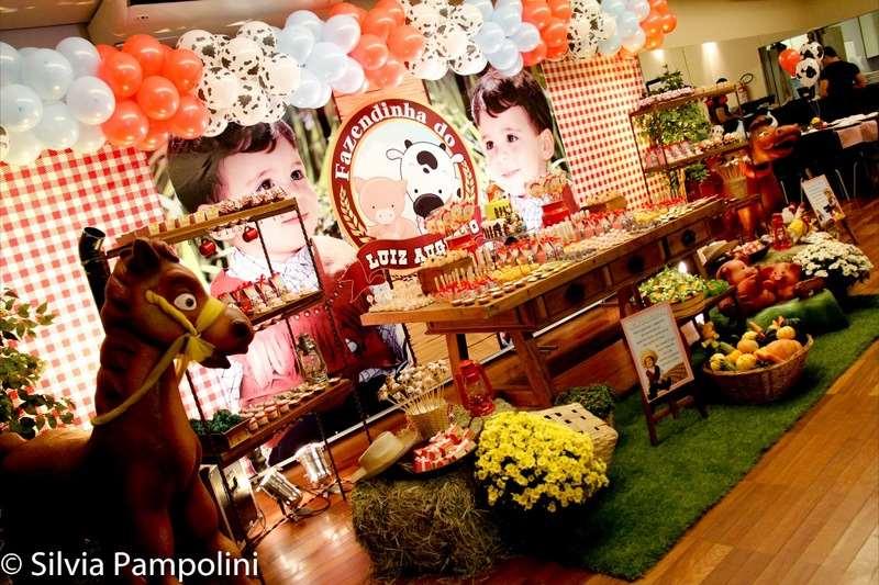 decoração de fazenda para festa de aniversário