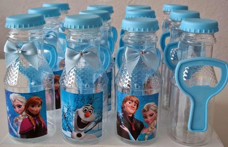 lembrancinha da Frozen para festa de aniversário infantil