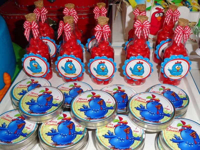 lembrancinhas da galinha pintadinha para festa de aniversário infantil