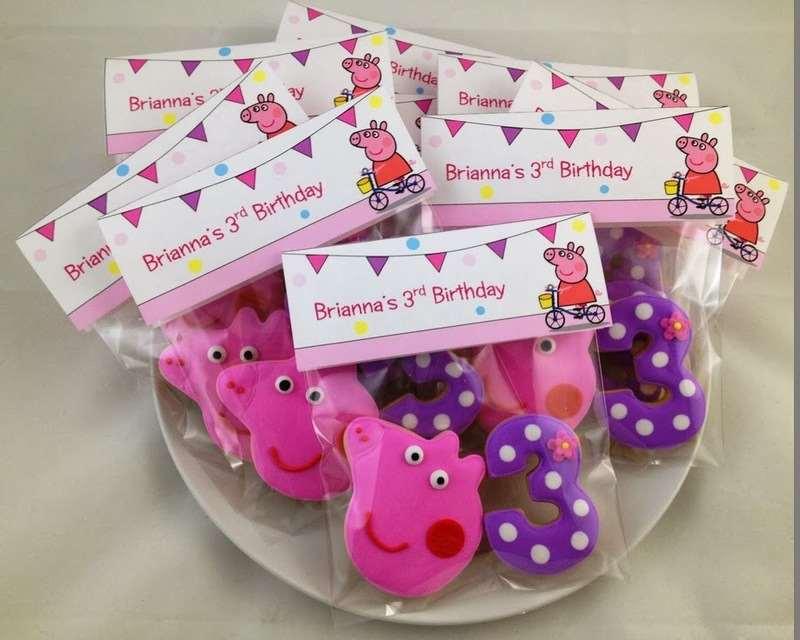 Lembrancinha de aniversário da Peppa Pig