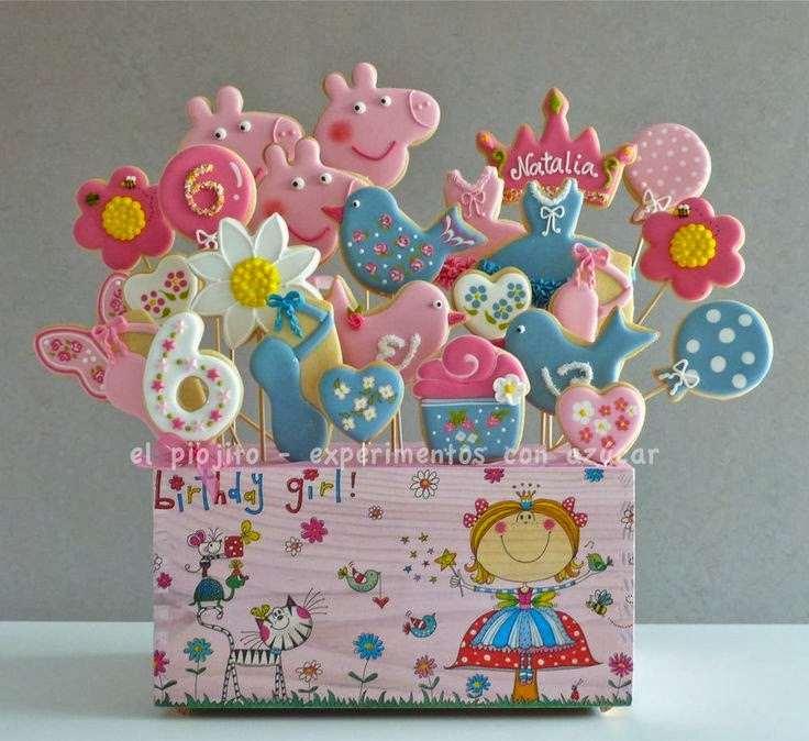 lembrancinhas da familia pig para aniversário de criança