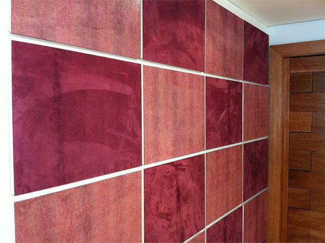 Painéis de Couro sintético na decoração residencial