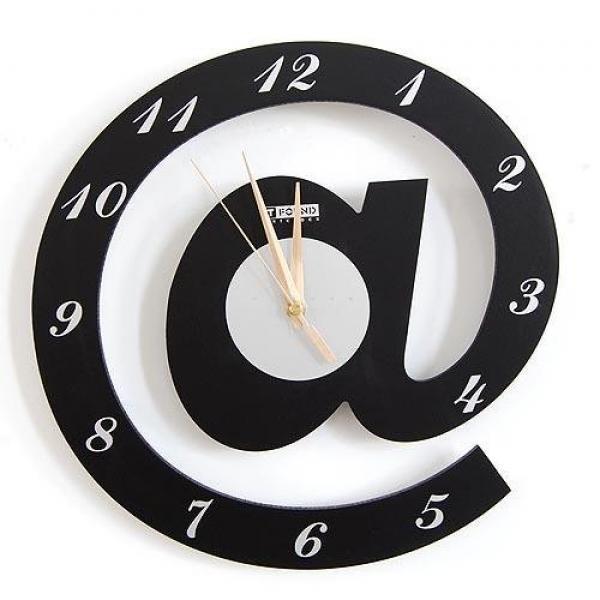 relógio decorativo para a sala de estar