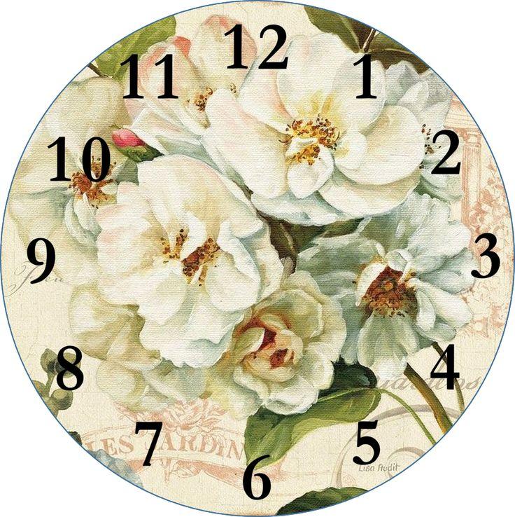 Relógio decorativo bem curioso para decoração rústica