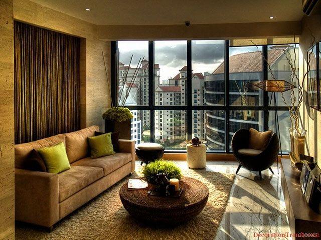 Revestimento de couro sintético em sofá decorativo
