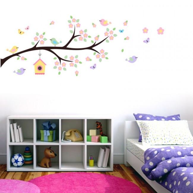 adesivo de parede para quarto infantil