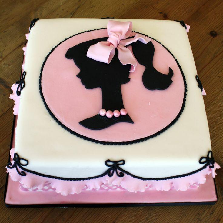 Torta de aniversário da Barbie