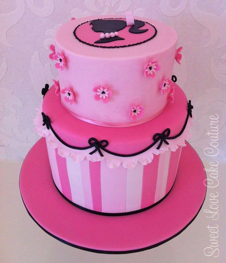 Barbie bolo de aniversário pequeno