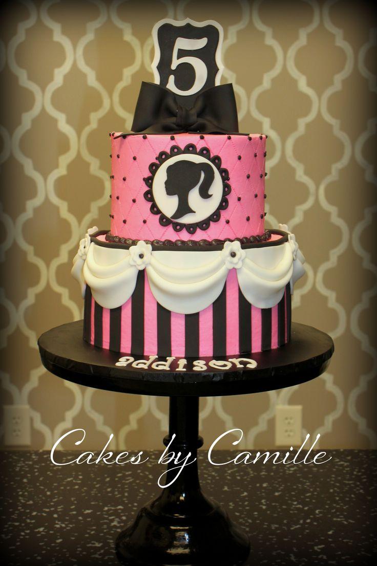 Bolo de aniversário personalizado Barbie estio Provençal