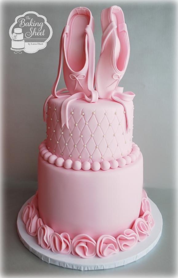 bolo decorativo para festa de aniversário Bailarina